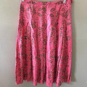 yoana baraschi anthropologie embellished skirt